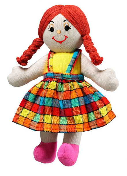 Fair Trade Fabric Girl Dolls